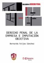 derecho penal de la empresa e imputacion objetiva 9788429014792
