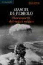 mecanoscrit del segon origen (edicio especial commemorativa) manuel de pedrolo 9788429757392
