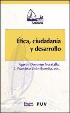 etica, ciudadana y desarrollo agustin et al. domingo moratalla 9788437068992