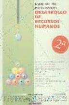 manual de programas de recursos de desarrollos humanos federico gan 9788445502792