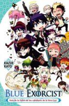 blue exorcist. guia de personajes kazue kato 9788467924992