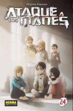 ataque a los titanes 24-hajime isayama-9788467931792