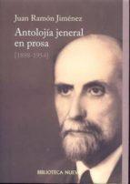 antolojia jeneral en prosa (1898-1954)-juan ramon jimenez-9788470306792