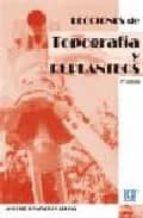 lecciones de topografia y replanteos-antonio gonzalez cabezas-9788484547792