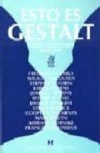 esto es gestalt (13ª ed.) frederick s. perls 9788489333192