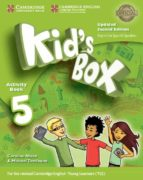 kid s box ess 5 2ed updated wb/cd rom/hm booklet 9788490369692