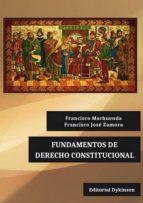 fundamentos de derecho constitucional francisco marhuenda 9788490859292