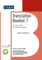 translation booklet 7: la pieza clave del metodo vaughan: ingles avanzado (incluye cd)-9788496469792