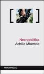 necropolitica achille mbembe 9788496614192