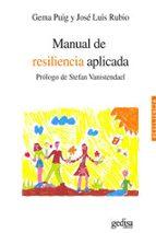 manual de resilencia aplicada gema puig jose luis rubio 9788497846592