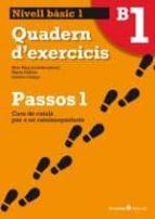 passos 1 nivell basic quadern 1-9788499211992