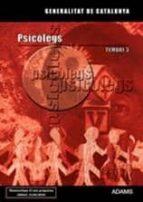 psicolegs generalitat de catalunya. temari especific 3-9788499434292