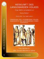 origo gentis langobardorum (ebook) 9788827534892