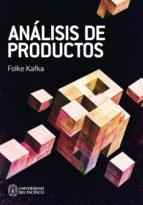 análisis de productos (ebook)-folke kafka-9789972572692