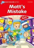 matt s mistake (dolphin readers 2)-di taylor-9780194400602