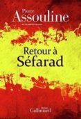 retour à séfarad-pierre assouline-9782070197002