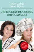 365 RECETAS DE COCINA PARA CADA DIA - 9788408095002 - ISABEL GEMIO