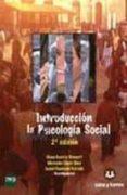 INTRODUCCION A LA PSICOLOGIA SOCIAL (TEORIA Y CUADERNO DE INVESTI GACION) - 9788415550402 - ELENA GAVIRIA STEWART