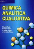 QUIMICA ANALITICA CUALITATIVA - 9788497321402 - VV.AA.