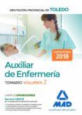 AUXILIAR DE ENFERMERIA DE LA DIPUTACION PROVINCIAL DE TOLEDO (VOL. 2) - 9788414214312 - VV.AA.