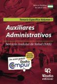 AUXILIARES ADMINISTRATIVOS DEL SAS. TEMARIO ESPECIFICO (VOL. 1) (NUEVA ED. 2016) - 9788416745012 - VV.AA.