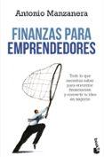 FINANZAS PARA EMPRENDEDORES - 9788423414512 - ANTONIO MANZANERA