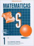 CUADERNO MATEMATICAS ESO Nº 1 LOS NUMEROS ENTEROS - 9788478871612 - VV.AA.