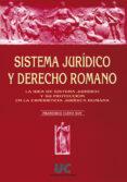 SISTEMA JURIDICO Y DERECHO ROMANO - 9788481021912 - FRANCISCO CUENA BOY