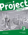 PROJECT 3 WORKBOOK (FOURTH EDITION) (1ºESO) - 9780194762922 - VV.AA.