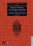 sintaxis histórica de la lengua española. vol. 2-concepcion company company-9786071620422