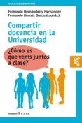 COMPARTIR DOCENCIA EN LA UNIVERSIDAD - 9788417667122 - VV.AA.