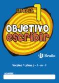 OBJETIVO ESCRIBIR 1 - 9788421665022 - VV.AA.