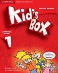KID S BOX 1 FOR SPANISH SPEAKERS ACTIVITY BOOK WITH CD-ROM AND LANGUAGE PORTFOLIO 2ND EDITION - 9788483238622 - VV.AA.