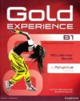 GOLD EXPERIENCE B1 STUDENTS  BOOK WITH DVD-ROM/MYLAB PACK (EXAMENES) - 9781447961932 - VV.AA.