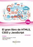 EL GRAN LIBRO DE HTML5, CSS3 Y JAVASCRIPT (3ª EDICIÓN) - 9788426724632 - VV.AA.