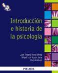 INTRODUCCION  E HISTORIA DE LA PSICOLOGIA - 9788436824032 - JUAN ANTONIO MORA MERIDA