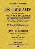 HAZAÑAS Y RECUERDOS DE LOS CATALANES - 9788497615532 - ANTONIO DE BOFARULL Y BROCA