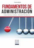 FUNDAMENTOS DE ADMINISTRACIÓN (EBOOK) - 9789587713732 - CARLOS RAMIREZ CARDONA