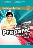 CAMBRIDGE ENGLISH PREPARE! 3 STUDENT S BOOK - 9780521180542 - VV.AA.