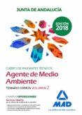 CUERPO DE AYUDANTES TECNICOS ESPECIALIDAD AGENTES DE MEDIO AMBIENTE DE LA JUNTA DE ANDALUCIA: TEMARIO COMUN (VOL. 2) - 9788414222942 - VV.AA.