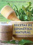 RECETAS DE COSMETICA NATURAL - 9788416765942 - NOEMI MARCOS
