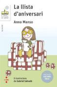 la llista d aniversari (lectura facil)-anna manso-9788466145442