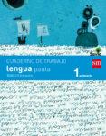 CUADERNO LENGUA 3º TRIMESTRE PAUTA SAVIA 1º EDUCACION PRIMARIA ED 2014 CASTELLANO - 9788467570342 - VV.AA.