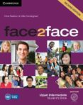 FACE2FACE FOR SPANISH SPEAKERS SECOND EDITION PACKS UPPER INTERMEDIATE PACK (STUDENT S BOOK WITH DVD-ROM, SPANISH    SPEAKERS HANDBOOK WITH CD, WORKBOOK WITH KEY) - 9788490363942 - VV.AA.