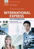 INTERNATIONAL EXPRESS: PRE INTERMEDIATE STUDENT BOOK PACK (WITH DVD-ROM AND POCKET BOOK). THIRD EDITION - 9780194597852 - KEITH HARDING
