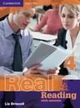 REAL READING WITH ANSWERS (NIVEL 4) - 9780521705752 - LIZ DRISCOLL