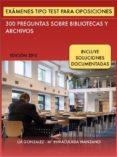 EXÁMENES TIPO TEST PARA OPOSICIONES A BIBLIOTECAS (EBOOK) - 9781326348052 - LIA GONZALEZ