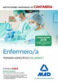 ENFERMERO/A DE LAS INSTITUCIONES SANITARIAS DE CANTABRIA: TEMARIO ESPECIFICO (VOL. 1) - 9788414214152 - VV.AA.