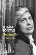 declaracion: cuentos reunidos-susan sontag-9788466346252