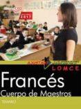 CUERPO DE MAESTROS FRANCES. TEMARIO - 9788468176352 - VV.AA.